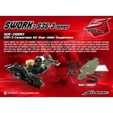 S35-3E Conversion Kit Rear Wide Suspension