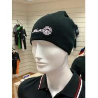 Winter Cap Wool  Black