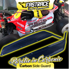 FR800SW FasTrace side plates in carbon / kevlar side guard perSworkz S35-3 / S35E